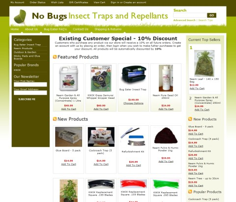 Mosquito Insect Trap and Garden Products
