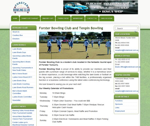 Forster Bowling Club and Tenpin Bowling