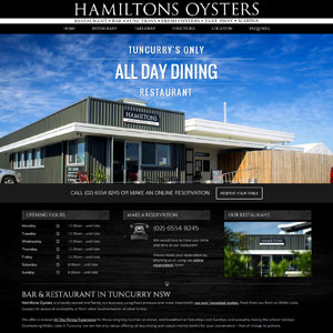 Hamiltons Oysters