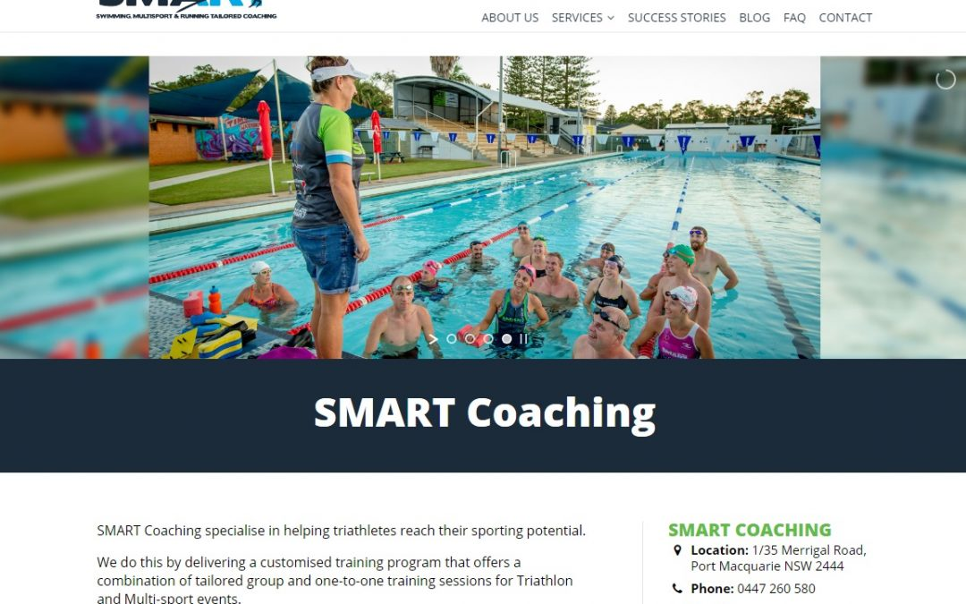 Fitness Coaching website in Port Macquarie