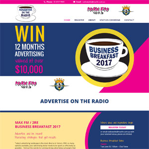 Advertise on the Radio